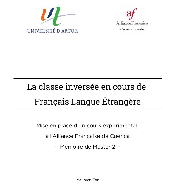 La classe inversée : une solution pour la classe de langue ? 2