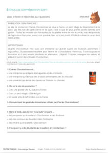 Compréhension orale A1 : Chips fabriquées en France 3