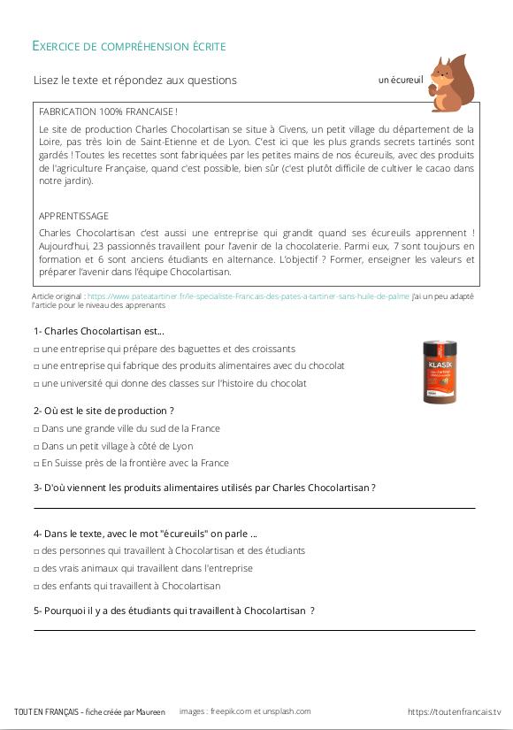 L'actu 23 : Des chips fabriquées en France 3