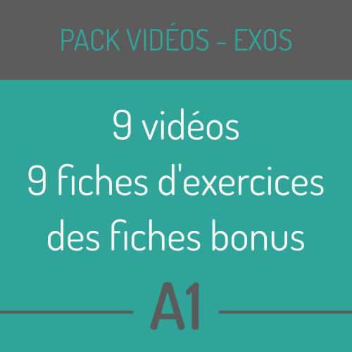 pack vidéos fle A1