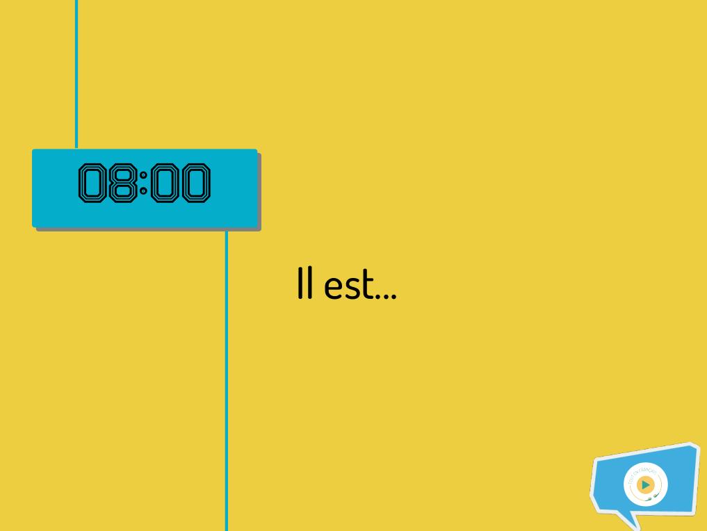 Dire l'heure en français - Comment on dit #1 1