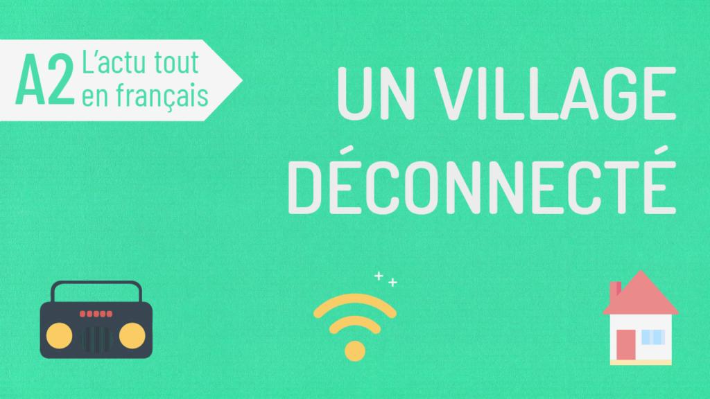 compréhension orale A2 actu tout en français