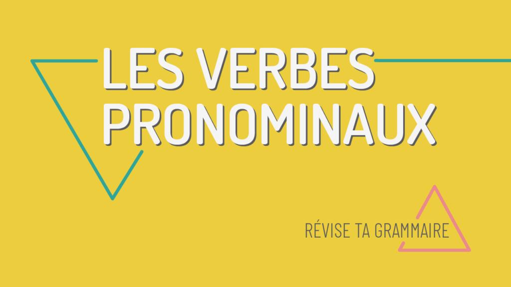 verbes pronominaux A1