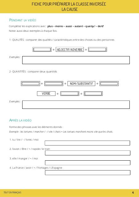 fle le comparatif fiche pdf à télécharger